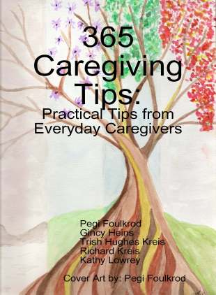 365 Caregiving Tips, Cover Page Artwork